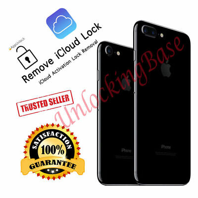 Apple iCloud Removal SERVICE Clean all iPhone Even iPhone 7 7 Plus iPad IMEI
