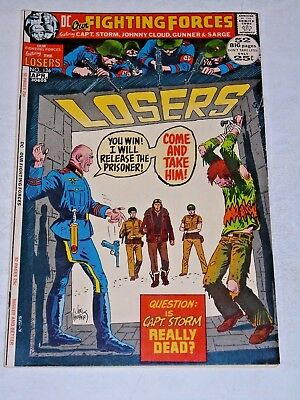 Our Fighting Forces #136 comic (VF+) NIce Copy! 52 pages