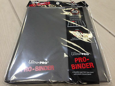 Ultra.Pro 9-Pocket PRO-Binder (20 Pages, Holds 360 Cards) - Fast Shipping!