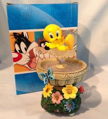 San Francisco Mucis Box Looney Tunes Tweetie in Water Fountain Ode to Joy $59.99
