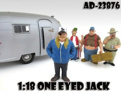 1/18 Trailer Park Series-One Eyed Jack -AMERICAN DIORAMA for your shop.garage