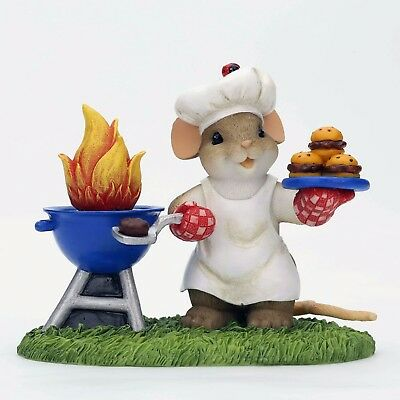 *NEW* King of the Grill Mouse Charming Tails