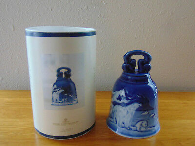 New ROYAL COPENHAGEN Collectibles 2010 Porcelain China Bell NIB