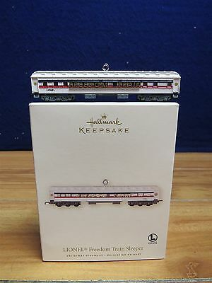 Hallmark Keepsake Freedom Train Sleeper Ornament  550250