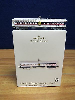 Hallmark Keepsake Freedom Train Observation Ornament  550251