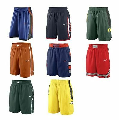 Nike Authentic On Court Shorts Multiple Teams Basketball Game Day Ncaa College