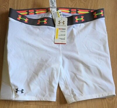 Under Armour Softball Sliding Shorts Womens Size Xl White NEW!!