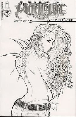 Witchblade # 70 Sketch Cover 70D D