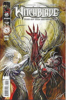 Witchblade # 125 All Beef  Cover