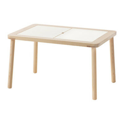 Children's Table Desk Wooden Ikea FLISAT