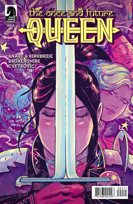 ONCE AND FUTURE QUEEN #2 B&B NM 1st Print