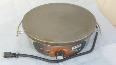 Waring Commercial  Heavy-Duty Electric Crepe Maker Stainless Steel