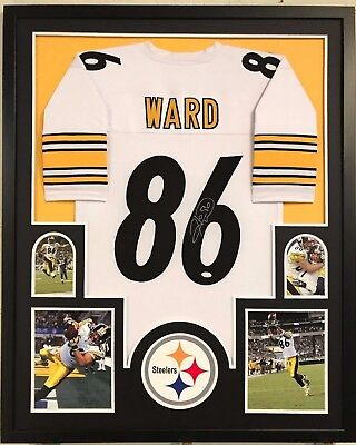 FRAMED HINES WARD Autographed Signed Pittsburgh Steelers