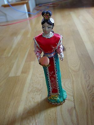 Vintage Chinese Oriental Girl Doll