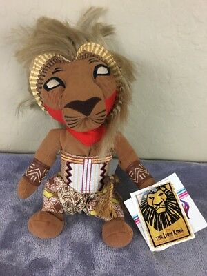 Disney's The Lion King Broadway The Musical Plush Beanie SImba