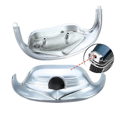 Chrome Classic Front Fender Mudguard Tip Trim For Harley FLHR Road King FLSTC