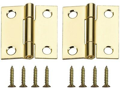 gatehouse door hardware hinges 2 pack 3 in h brass plated radius