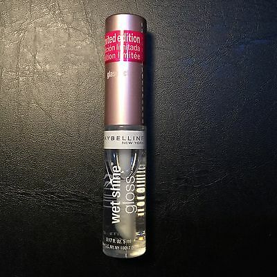 MAYBELLINE WET SHINE DIAMONDS LIQUID LIP GLOSS New & Sealed (GLASS ACT)
