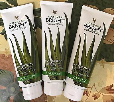 6x1Forever Living - Forever Bright Toothgel 130 grams Tooth Gel UK FREE DELIVERY