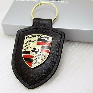 OZ Stock KEY CHAIN Keychain NEW RING Keyring Porsche 911 Cayman Boxster Cayenne