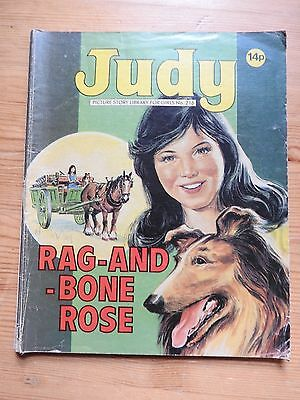 Judy Picture Story Library #216 - Rag and Bone Rosie VG