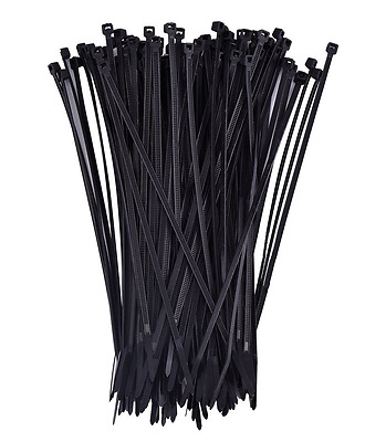 Black  Nylon Plastic Cable Ties Zip Tie Wraps