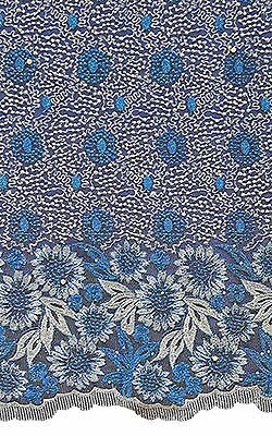 African Premium Polished Lace High Quality and Fully Embroided