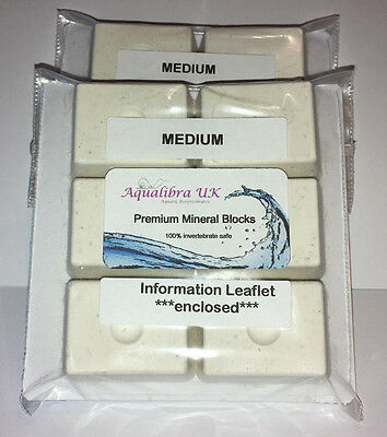 PREMIUM MINERAL BLOCKS 11g x 6 with added CALCIUM+VITAMINS+FOOD for TROPICAL