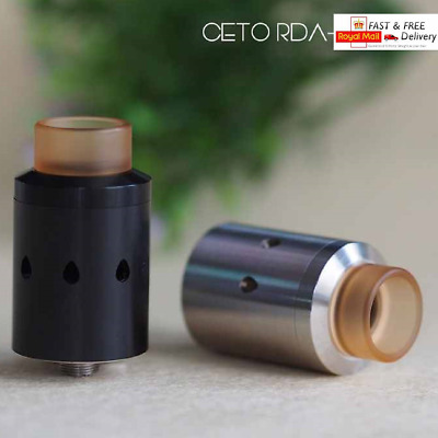 Ceto RDA Rebuildable Dripper New Wire Mesh Heating Coiling System 304SS + Spares