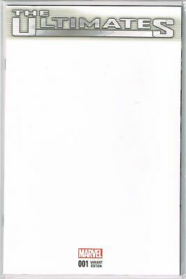 The Ultimates Vol 4 #1 Cover E Blank Sketch Variant NM 2015 Marvel - Vault 35