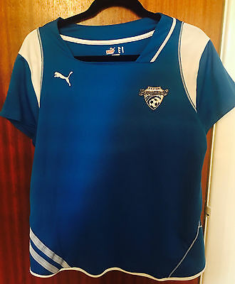 Boston Breakers Home Shirt Size Woman's XL / UK size 16 official WPS Soccer PUMA