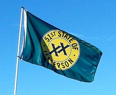 State of Jefferson 51st State Flag