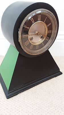 Attractive Drum Head Mantle Clock. French 8 Day Movement. Circa 1880 - 1900. Goo