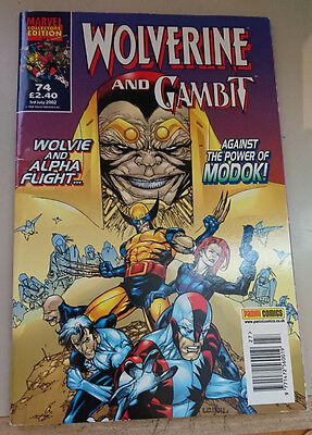 Wolverine and Gambit Issue #74 2002