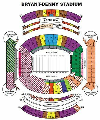 Alabama Crimson Tide  vs  Mercer Tickets