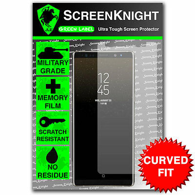 ScreenKnight Samsung Galaxy Note 8 Screen Protector - CURVED FIT - EDGE to EDGE