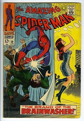 Amazing Spider-Man #59 Mary Jane 1st Cover appearance 1968