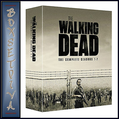 The Walking Dead - Complete Seasons 1 2 3 4 5 6 & 7  *Brand New Blu-Ray Boxset*