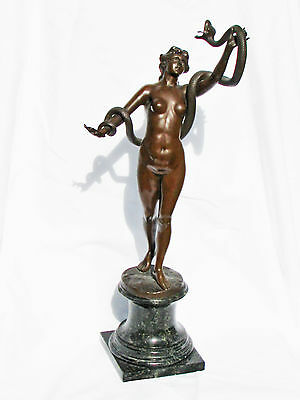Early 1930's Art Deco Bronze sculpture.  Excellent condition.