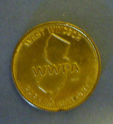 West Windsor Parking Authority Token, New Jersey