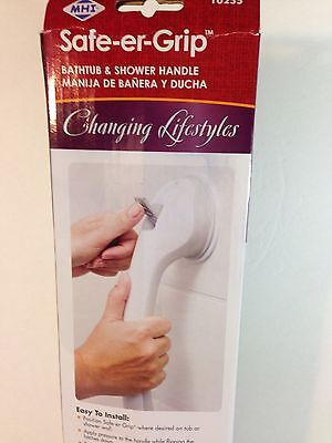 Tub Shower Handle Bathroom Safety Grip 17 Inch Balance Assist Home Travel NEW