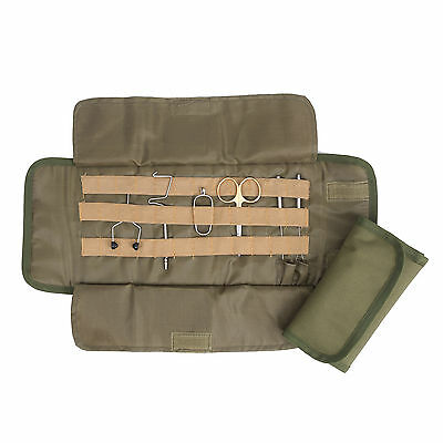 Roll Up Fly Tying Tool Pouch Soft Cordura Fly Fishing Gear Assortment Holder