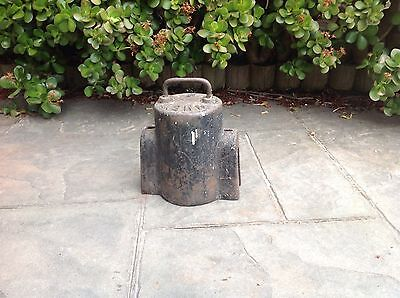 Vintage Cast Iron Water Meter Cover
