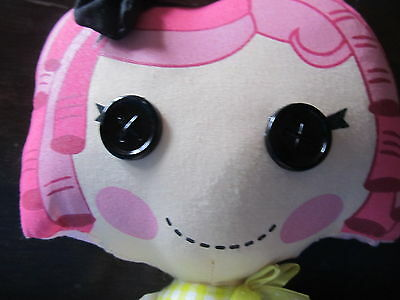 Lalaloopsy Doll Pink, Girl, Button eyes, girls toy