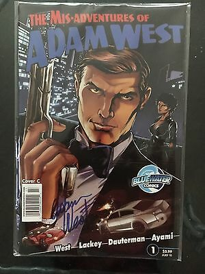 Mis-Adventures of Adam West #1 (July 2011, Bluewater Productions) Cover C Signed