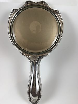 Vintage Sterling Silver Hand Mirror