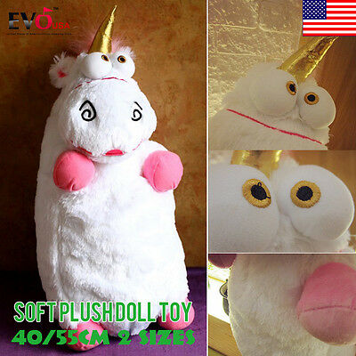New Despicable Me Agnes Fluffy Unicorn Soft Plush Doll Toy Pillow Gifts