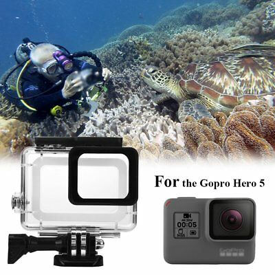 For GoPro Hero 5 Camera Accessories 45m Diving Waterproof Housing Case Dustproof