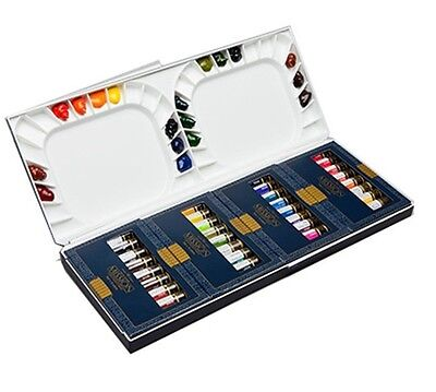 Mijello Mission Gold Class Water Color Palette Set, 7ml Set of 36 Colors