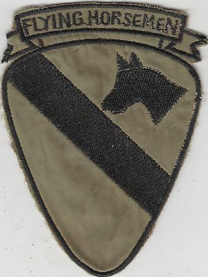 US Army 1st Air Cavalry Division Vietnam Patch - Flying Horseman